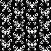 Butterfly Pattern {in black}