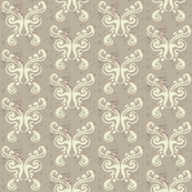 Butterfly Pattern {light brown}