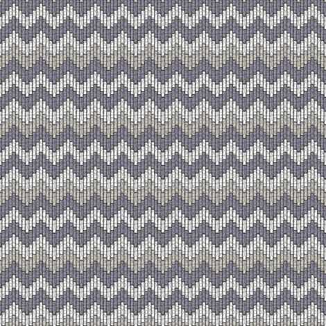 inuit chevron smoke fabric by glimmericks on Spoonflower - custom fabric