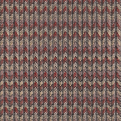 inuit chevron grandmas afghan fabric by glimmericks on Spoonflower - custom fabric