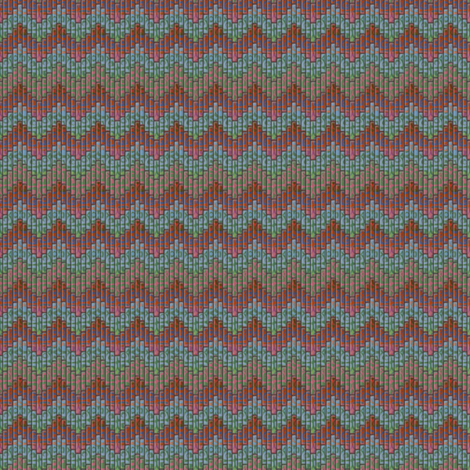 inuit chevron multi fabric by glimmericks on Spoonflower - custom fabric