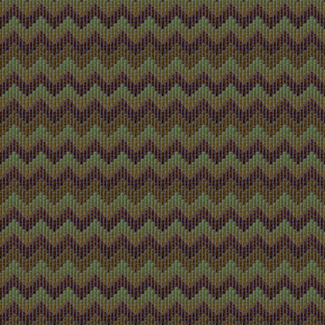 inuit_chevron_agate fabric by glimmericks on Spoonflower - custom fabric