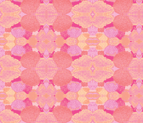 pebbled blush fabric by crafty_missus on Spoonflower - custom fabric