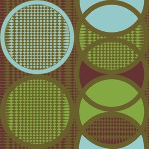 intersection fabric, wallpaper, gift wrap, and decals - Spoonflower