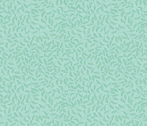 Light mint fabric by stewsha on Spoonflower - custom fabric