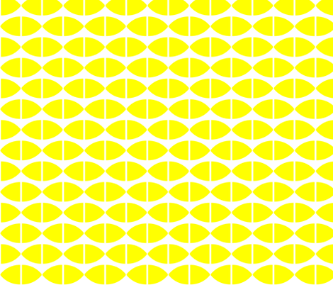 Lemons fabric by stoflab on Spoonflower - custom fabric