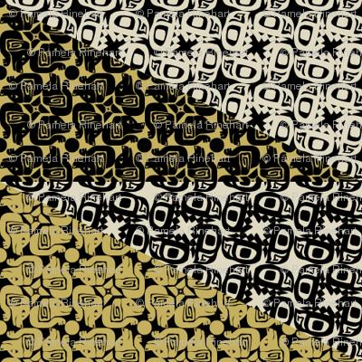 glyph bird dog mustard