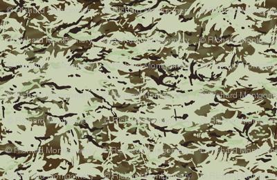 British Multicam Multi Terrain Pattern 'MTP' Desert Variation Camo