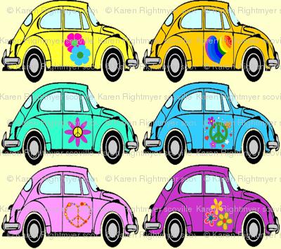 hippie cars