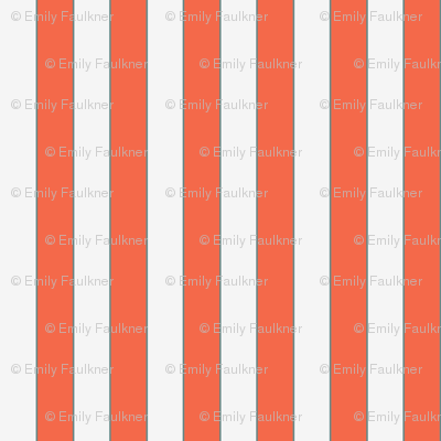 Orange then White Striped