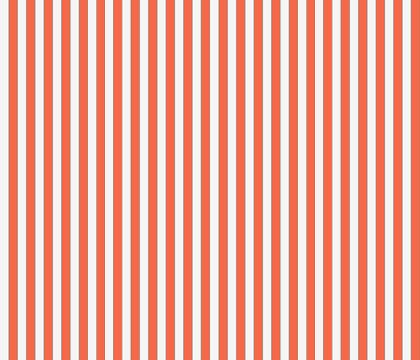 Orange then White Striped fabric by emfaulkner on Spoonflower - custom fabric