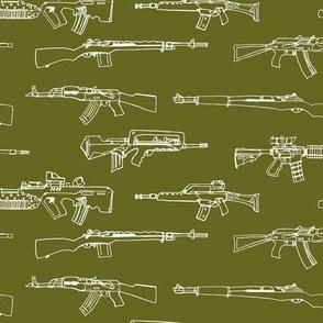Bring On The Big Guns - Green
