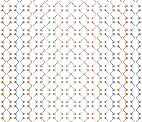 spindles fabric by luvinewe on Spoonflower - custom fabric