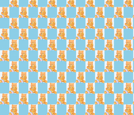 blue_bears fabric by patti_ on Spoonflower - custom fabric