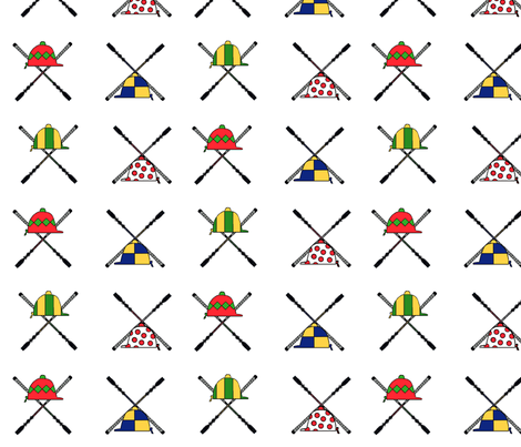 batsandhats fabric by ragan on Spoonflower - custom fabric