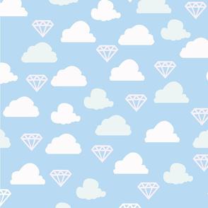 The sky is full of diamonds