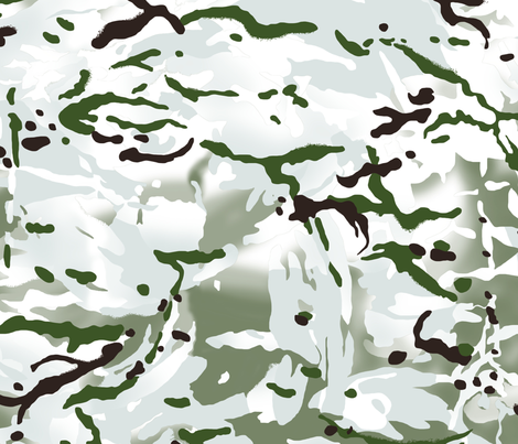 British Multicam Multi Terrain Pattern 'MTP' Snow Variation Camo fabric by ricraynor on Spoonflower - custom fabric