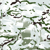 British Multi Terrain Pattern 'MTP' Snow Variation Camo
