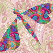 paisley dragonfly