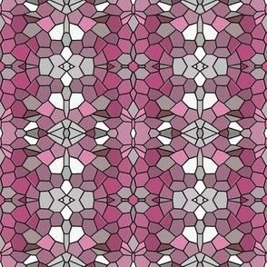 Ornamental Tiles  - Pink