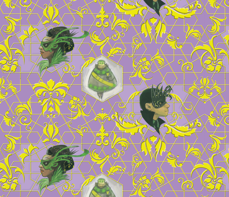 Mardi Gras Ball fabric by racheljones on Spoonflower - custom fabric