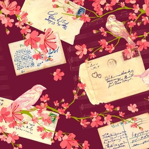 Love Letters and Cherry Blossoms