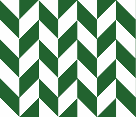 Green-White_Herringbone