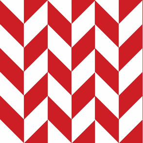 Red-White_Herringbone