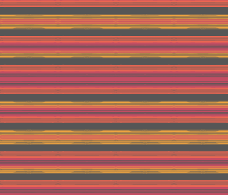 Desert Sunset Stripes fabric by joyfulroots on Spoonflower - custom fabric