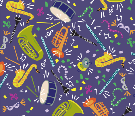 Party On! fabric by sammyk on Spoonflower - custom fabric