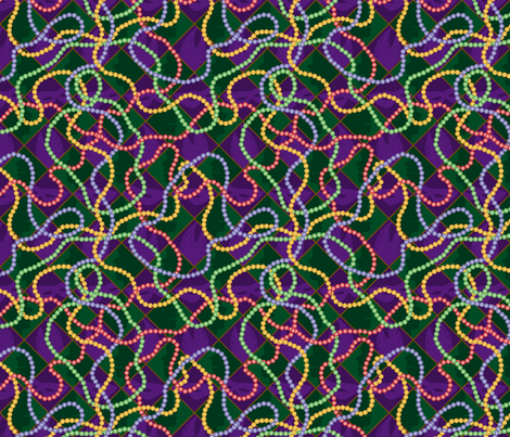 MardiGrasBeads fabric by melhales on Spoonflower - custom fabric