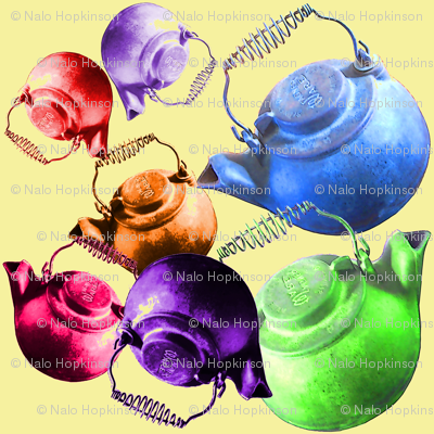 rainbow kettles