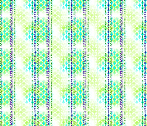 Beads & Fleurdelis fabric by bjornonsaturday on Spoonflower - custom fabric