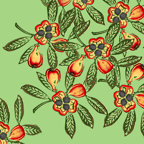 ackee fabric by nalo_hopkinson on Spoonflower - custom fabric
