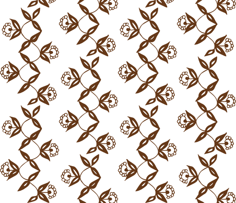 Chestnut Vine fabric by hazelrose on Spoonflower - custom fabric