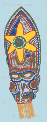 A Mardi Grass Mask