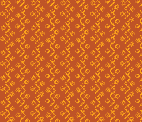 Turmeric Vine fabric by hazelrose on Spoonflower - custom fabric
