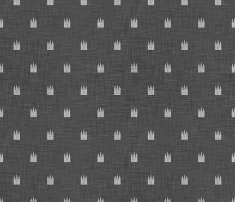Salt_Lake_Temple_print fabric by bjornonsaturday on Spoonflower - custom fabric