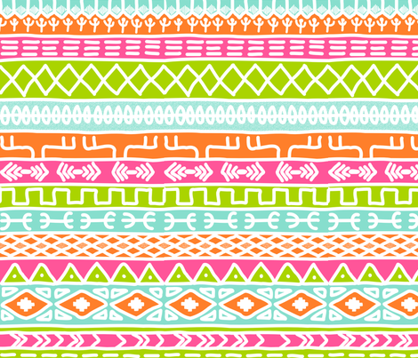 African Princess fabric by eeniemeenie on Spoonflower - custom fabric