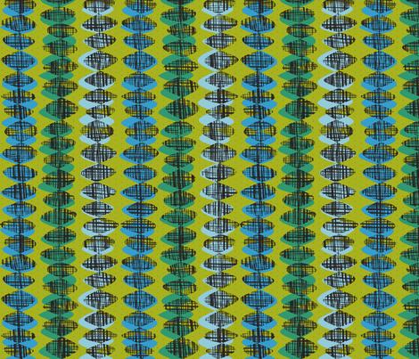 beaded burlap fabric by darcibeth on Spoonflower - custom fabric