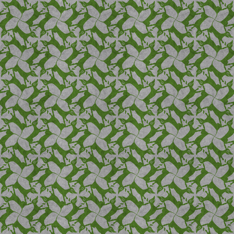 dogs with relish fabric by glimmericks on Spoonflower - custom fabric