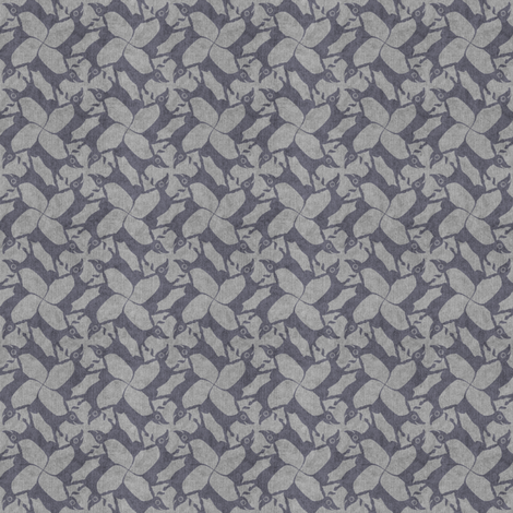 gray doxies fabric by glimmericks on Spoonflower - custom fabric