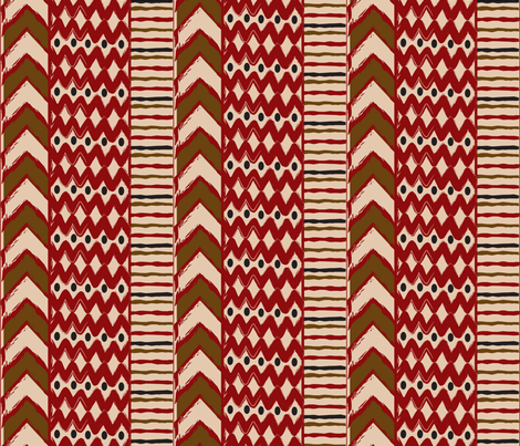 Etats d'Afrique fabric by grafikat on Spoonflower - custom fabric