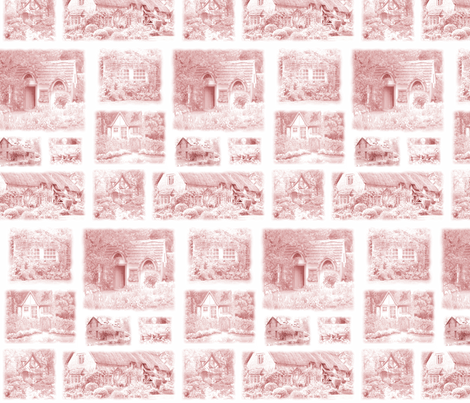 country cottages fabric by krs_expressions on Spoonflower - custom fabric