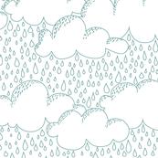 Vancouver Rain White