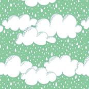 Vancouver Rain Green