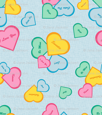 Valentines - blue