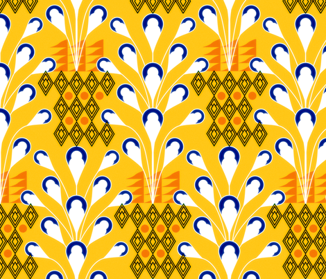 africand fabric by sary on Spoonflower - custom fabric