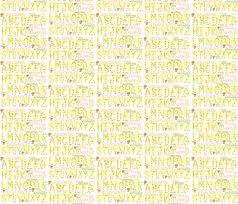 alphabet fabric by krs_expressions on Spoonflower - custom fabric
