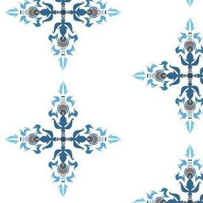 White_Blue_Tribal_Flame